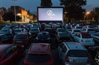 drive, in, kino, cinema, zagreb