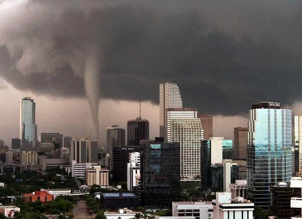 See haunting footage of the Great Miami Tornado that struck down 23 years ago today