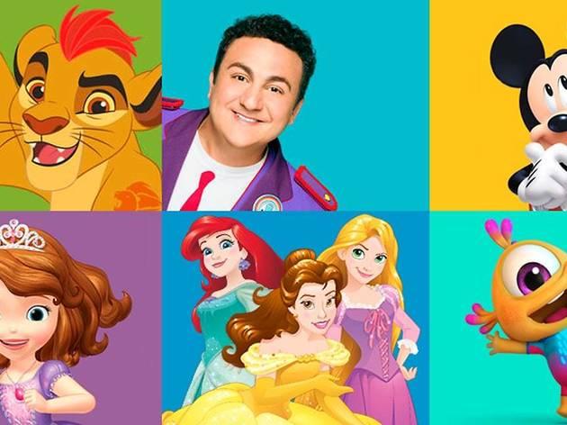 Cumpleaños mágico Disney