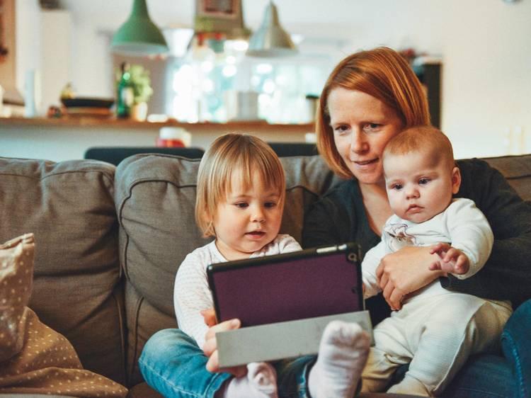 Actividades online para entreter as crianças