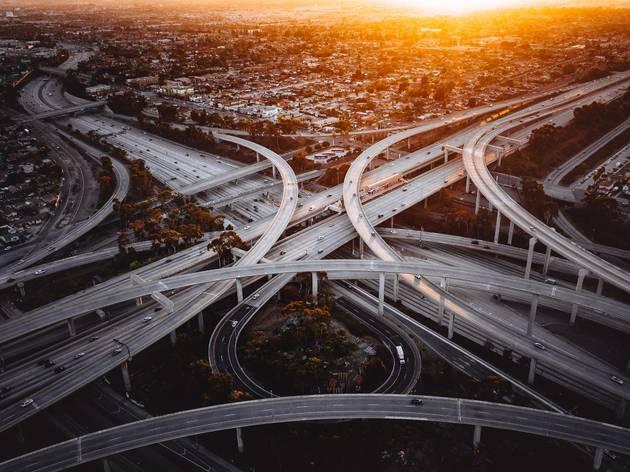 Los Angeles freeways