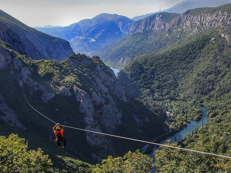 Get an adrenalin rush at Cetina