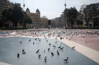 Barcelona, plaça Catalunya