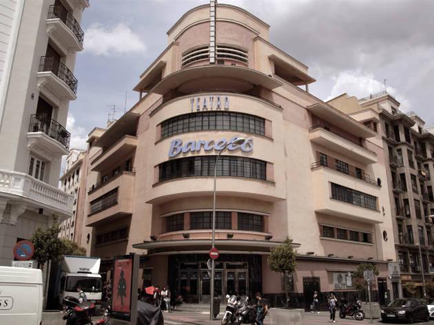 Cine Teatro Barceló arquitectura de Madrid