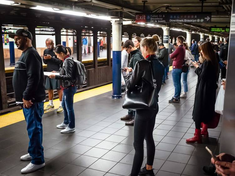New Yorkers share opinions on the dispersal of non-toxic gas in the subways