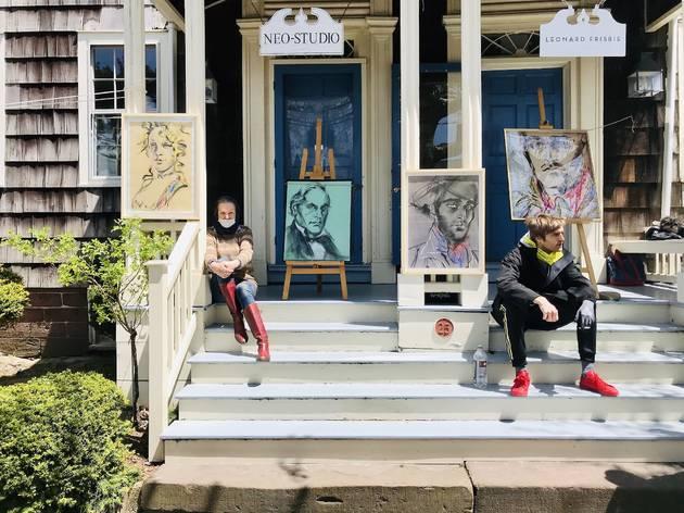 New York, the Hamptons, The New York Times, Warren Neidich, Brooklyn, Queens, Jackson Pollock