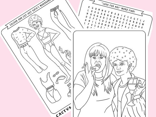 Kath and Kim illustrations