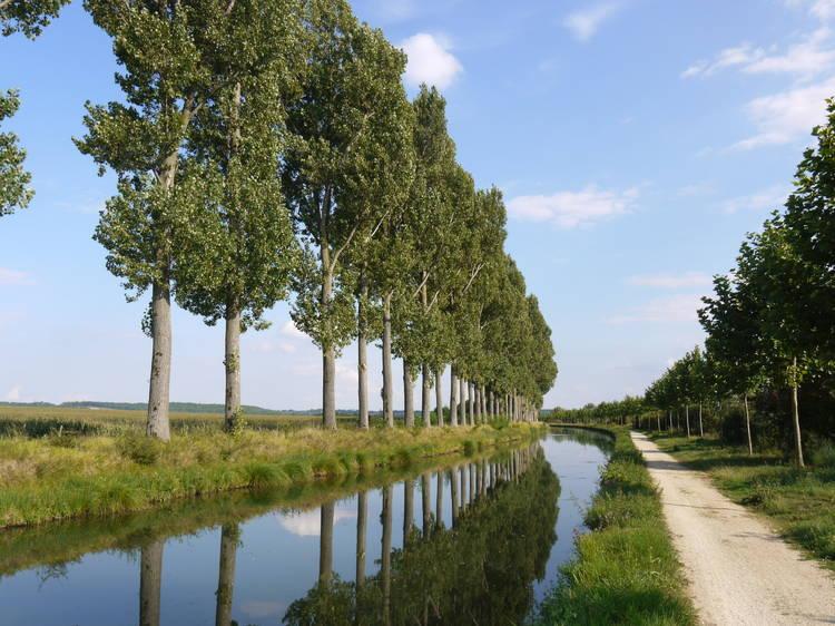 Le canal de l'Ourcq (jusqu'en Seine-et-Marne !)