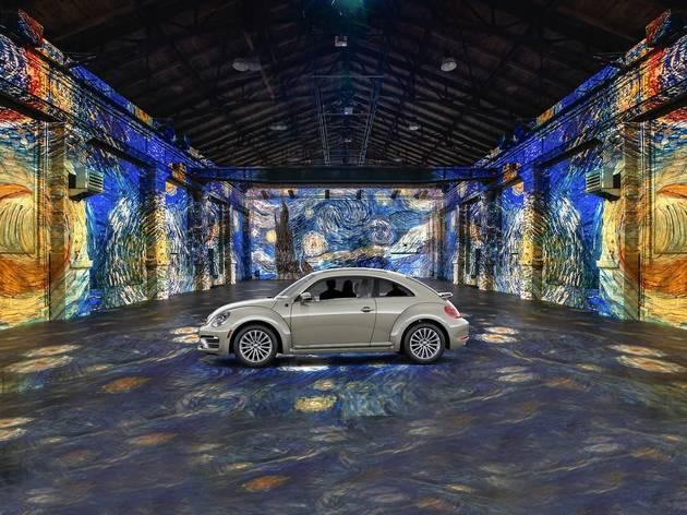 Drive-in Van Gogh Exhibit in Toronto, Canada (rendering)
