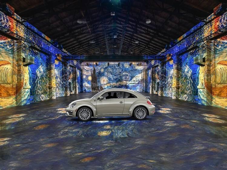 Vai ser inaugurada uma exposição drive-in de Van Gogh no Canadá