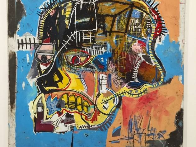 A Jean-Michel Basquiat artwork