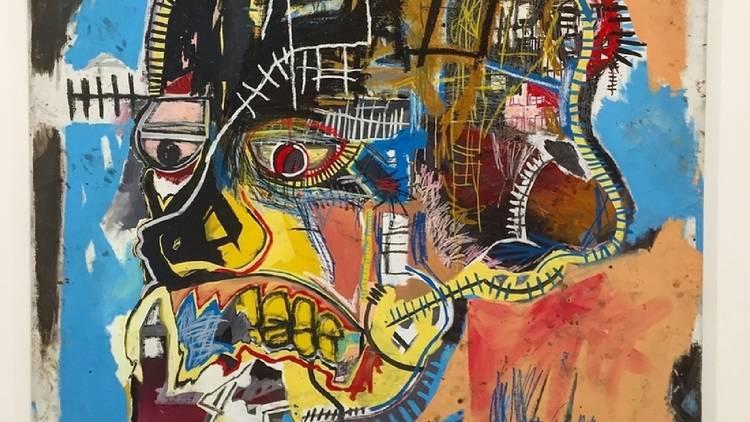 A Jean-Michel Basquiat artwork