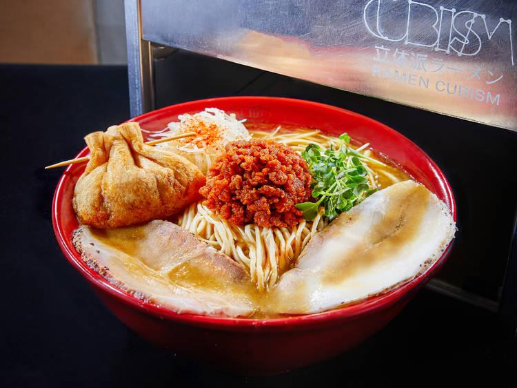 立体派:日本冠軍級味噌拉麵
