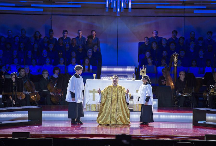 Paulo Szot in Leonard Bernstein's Mass (Ravinia Festival)