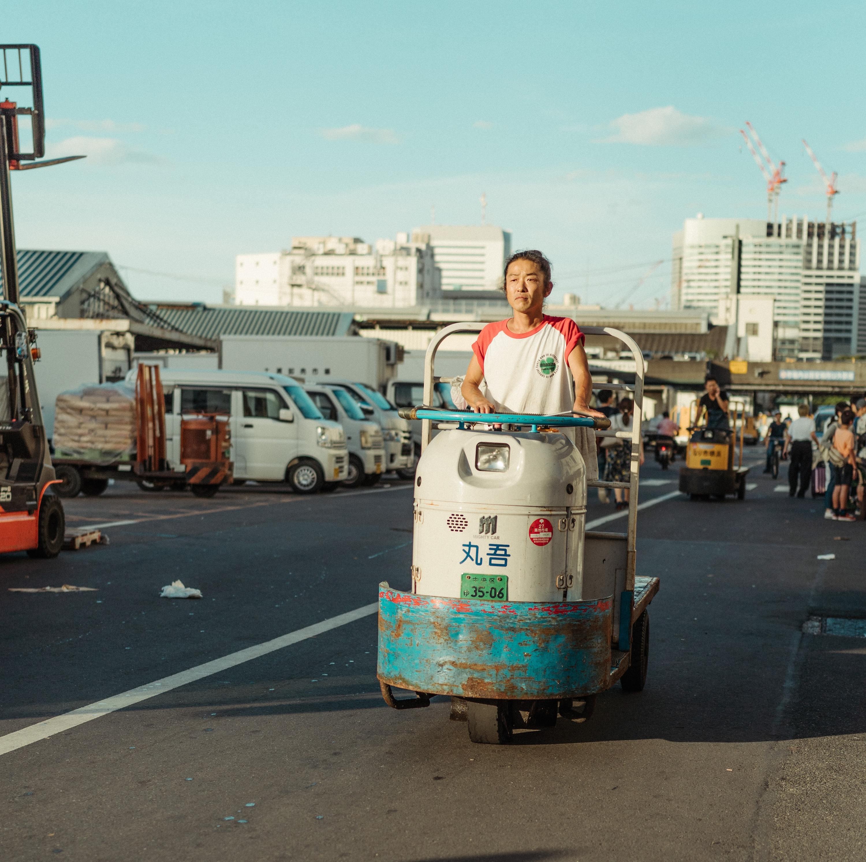 Antiguo mercado de Tsukiji, torreta