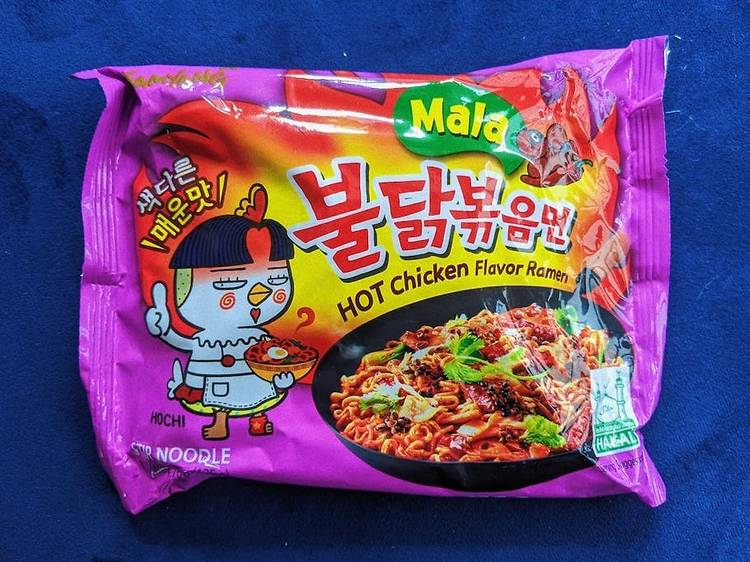 Samyang Mala Hot Chicken noodles