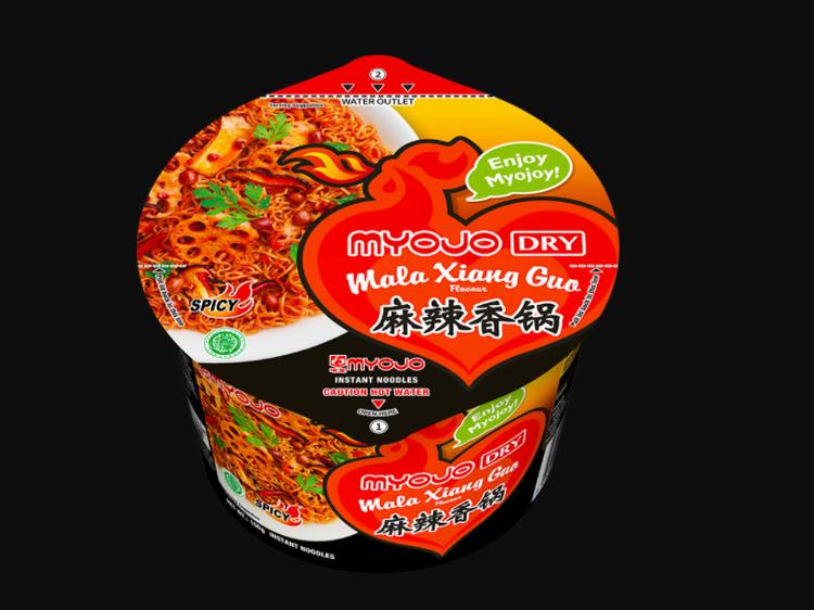Myojo Dry Mala Xiang Guo noodles