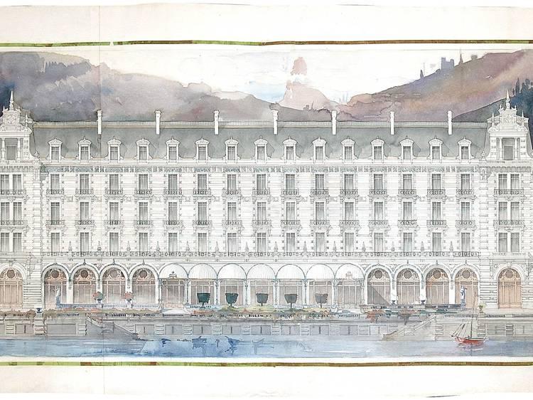 Conheça o restauro de desenhos do arquitecto Marques da Silva na FIMS