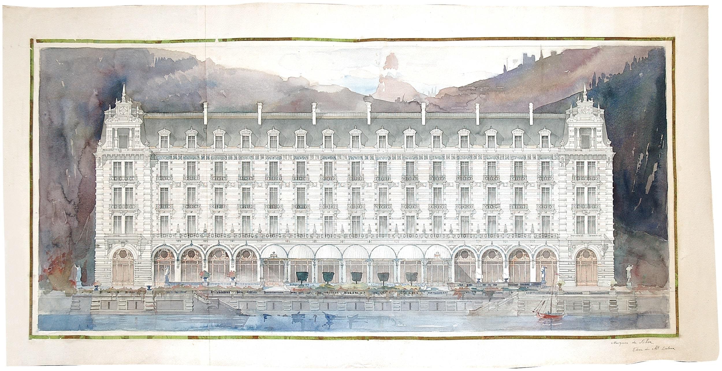 Un Hôtel de Voyageurs (1895), Marques da Silva