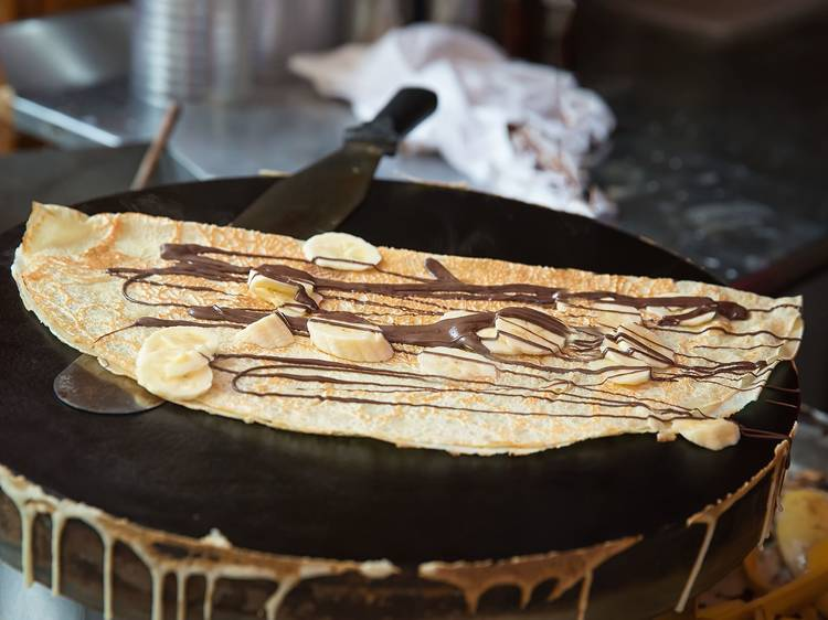 Captivate your taste buds with unique crepes