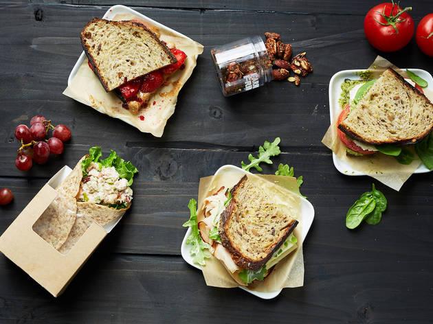 farmers fridge, farmer's fridge, sandwiches, lunch, healthy, food