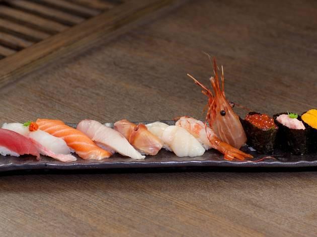 The Yuu sushi
