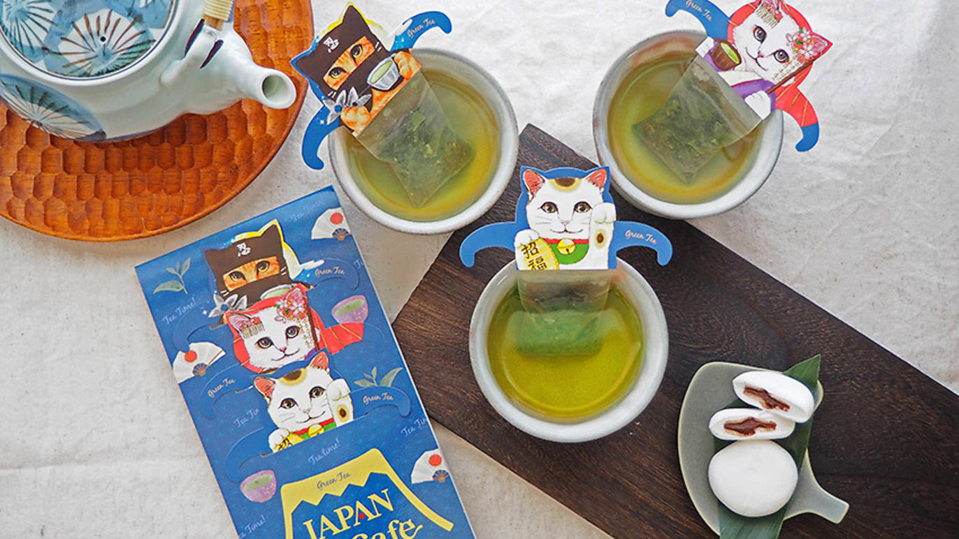 Cat-Shaped Tea Bags