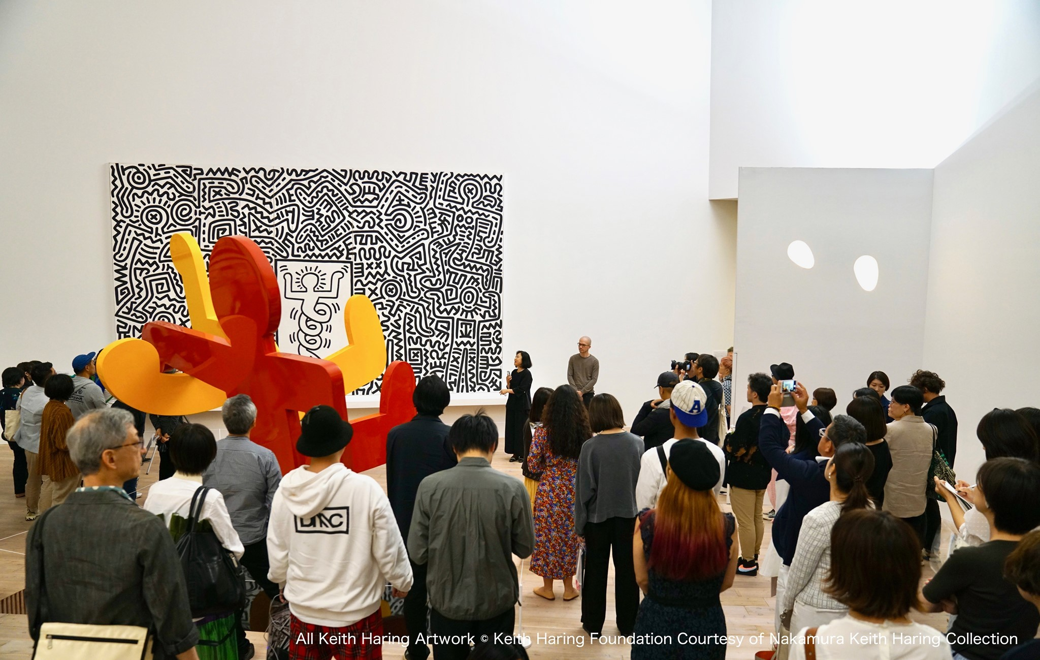 The only museum in the world dedicated to Keith Haring is in Japan
