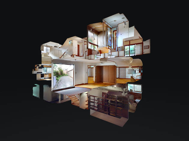 新・前川國男邸の3Dイメージ画像