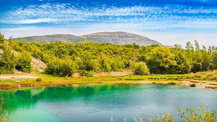 Cetina, Dinara