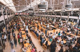 Mercado, Food Hall, Time Out Market, Lisboa