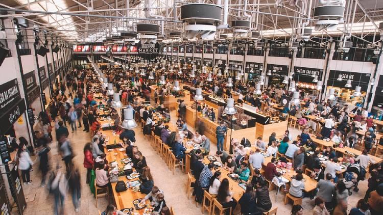 Mercado, Food Hall, Time Out Market, Lisboa