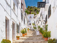 Frigiliana, a village in Andalucia, Spain
