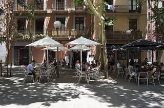 Terrassa del barri de Gràcia