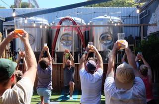 Beer Yoga Blackman's Brewery Good Beer Week