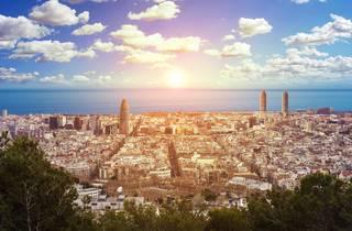 Barcelona, panoramic view, vista panorámica
