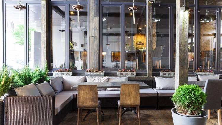 restaurant, restaurant interior, interior, tables, shutterstock