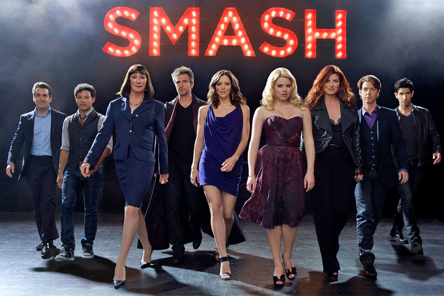 The Season 1 cast of NBC's Smash (2012)