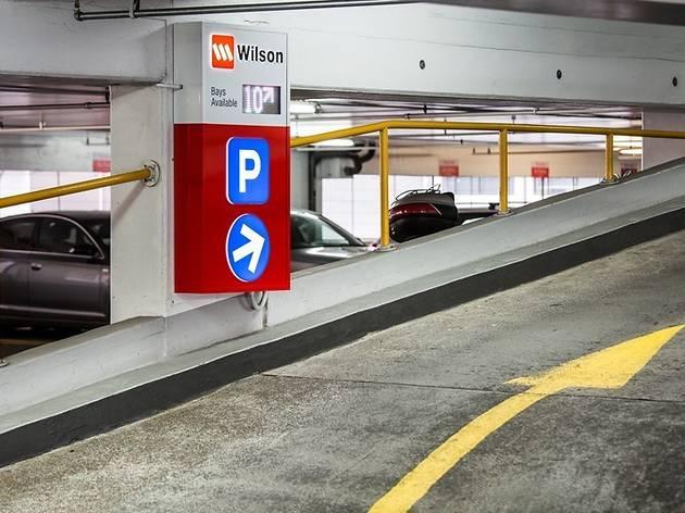 Wilson Parking car park ramp