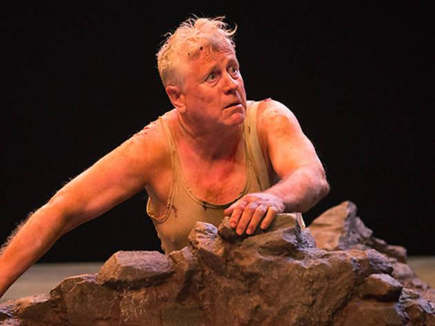 Joseph Ziegler as Timon in Timon of Athens