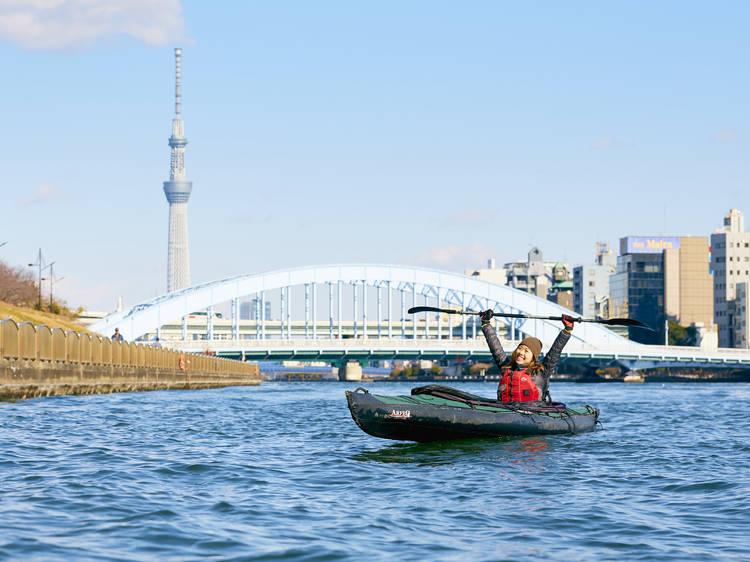 Tokyo Great Kayaking Tours