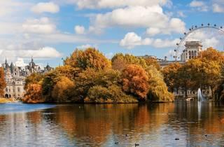 St James Park in October