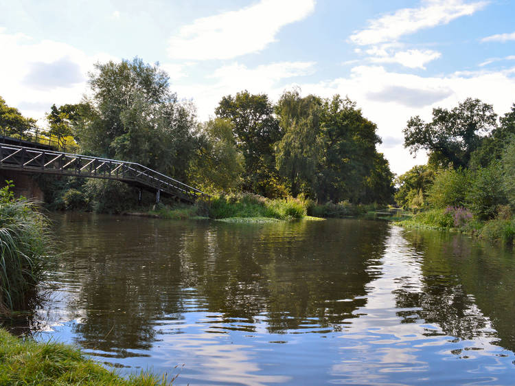 River Wey, Shalford