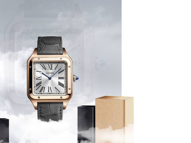 Cartier drops a microsite to launch new watch models