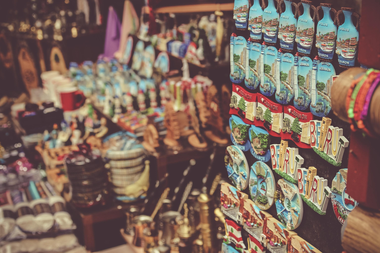 Travel souvenirs