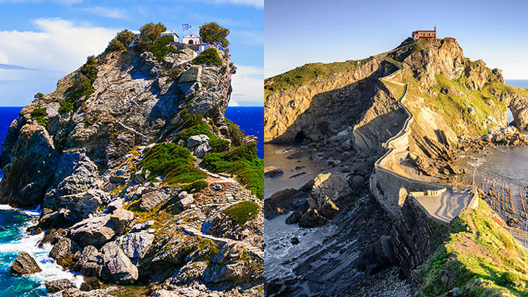 Agios Ioannis vs. San Juan de Gaztelugatxe