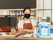 server, mask, masked, restaurant, waiter, waitress, shutterstock