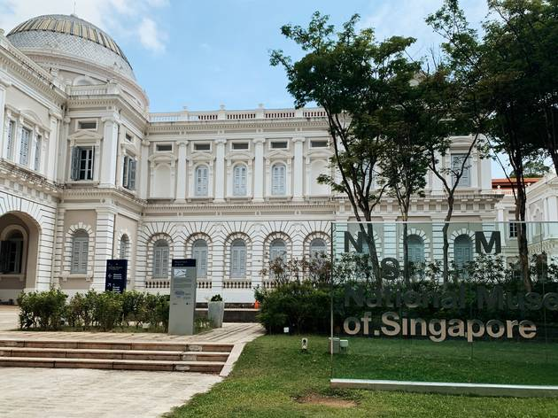 National Museum of Singapore lights up to show appreciation for healthcare workers