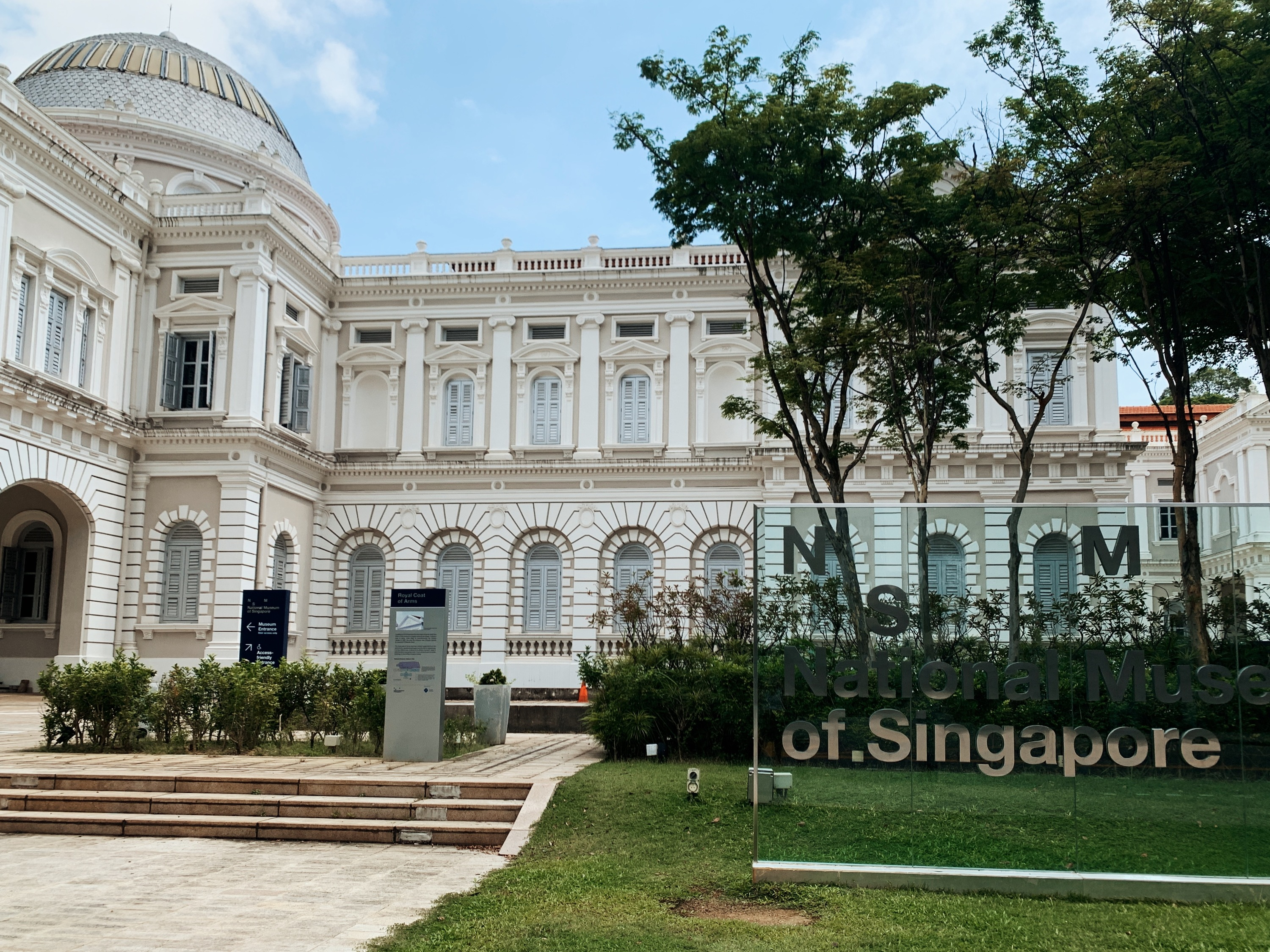 National Museum of Singapore lights up to show ... on National Museum Of Singapore  id=69829