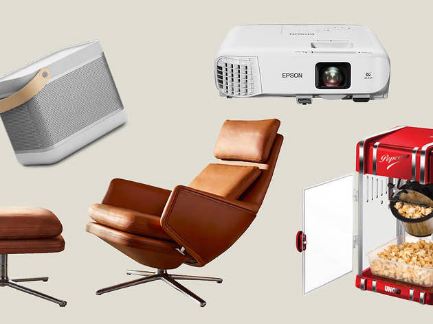 Turn your own home into a movie theater with these items